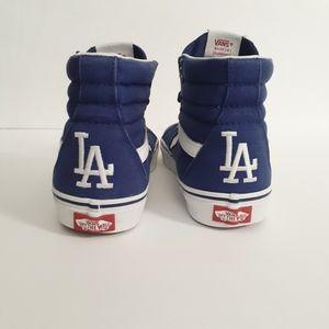 Vans MLB LA Dodgers SK8 -Hi Shoes SZ M6.5/W8